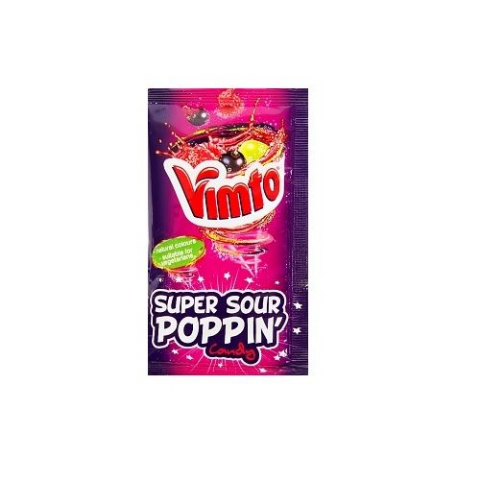 Vimto Popping Candy Sachet 3.5g (1 Supplied)